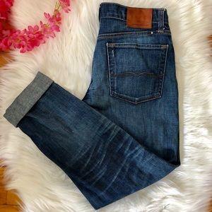 Lucky Brand sienna cigarette jeans 4/27